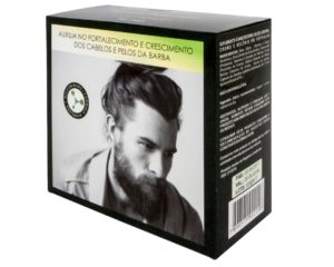 Suplemento para cabelo e barba