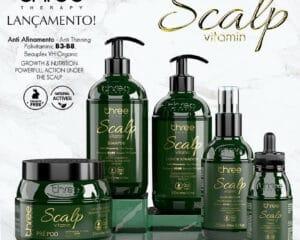 Scalp vitamin